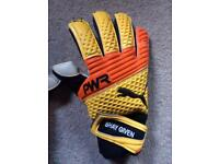 Shay givens goalie gloves