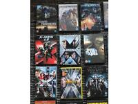 Huge DVD action & sci-fi collection