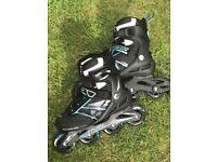 Rollerblade zetrablade uk 5 roller skates