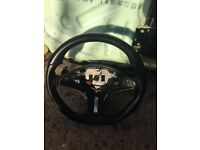 Mercedes amg paddle shift steering wheel