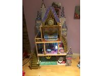 Disney Cinderella Doll castle (barbie size dolls)