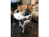 Nuna Zaaz High chair £220 new 2 months old