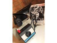 Vintage camera. Polaris swinger II land camera