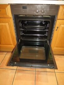 Bosch integrated electric fan oven