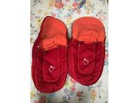 Icandy twins foot muff