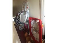 Baby High chair and Walker