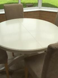 IKEA INGATORP White Dining Table