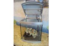 Small Glass Fish tank ,approx 25Lt