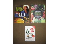 3 Food and Diet Themed Books Individually Priced: Please See Advert Description