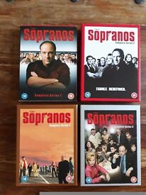 The Sopranos Box Set Series 1-4