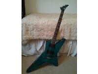 Charvel Desolation DST-1 ST Star Trans Blue Smear Electric Guitar