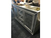 Large mirrored sideboard