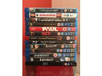 BluRays £20 for the lot