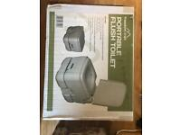 Flushing camping toilet-brand new