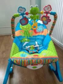 Fisher Price Infant to toddler rocker + seat