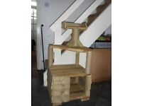 Cat Stand - solid wood