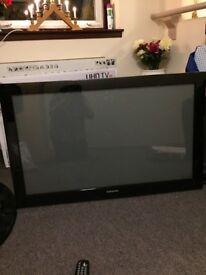 "Samsung 43"" flatscreen plasma tv"