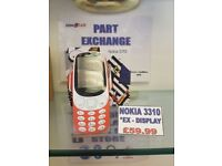 Nokia 3310 - Ex-display - Unlocked - Various colours