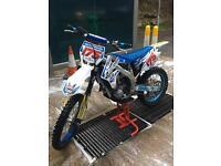 Motocross bike TM 450 2009