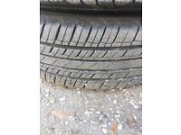 """15"""" Volkswagen caddy steel wheels and tires"""