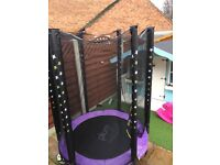 Plum Stardust Trampoline and Enclosure 4.5ft