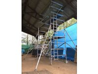 BOSS YOUNGMAN SCAFFOLD TOWER DOUBLE EVOLUTION 6.2M WH X 2.5M