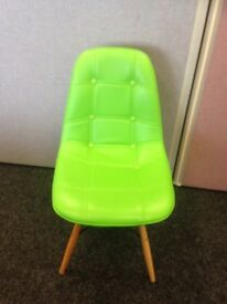 Green chairs - Great condition