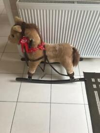 free rocking horse with sound FREE