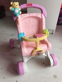 Fisher Price Pram baby walker