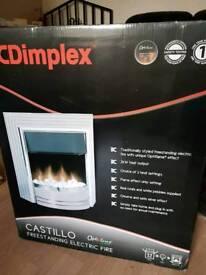 Dimplex electric gas fire