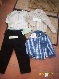 boys clothes age 3-4 years, designer-BERLINGOT,M&S INDIGO,LADYBIRD,NEXT