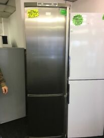 AEG TALL FROST FREE FRIDGE FREEZER IN STAINLESS STEEL