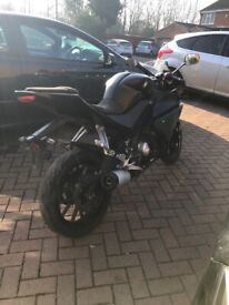 Yamaha R125 yzf r 125 2016 abs model HPI clear spares or repairs project rc mt gsx