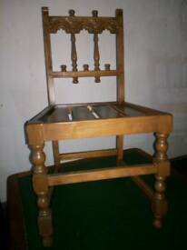 Stunning ERCOL carved dinning chair