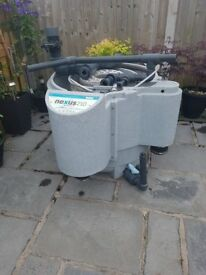 Nexus 210 with air pump and water pump