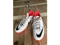 Nike moulded football boots size 5
