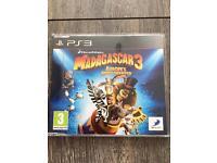 PS3 Playstation 3 Games Madagascar 3