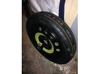 Seat Leon space saver wheel and tyre ( never used) plus Jack and wheel brace ,£60 07736 225726