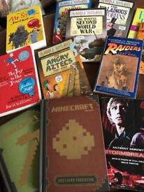 BUNDLE OF BOOKS FOR BOYS AGE 9-12
