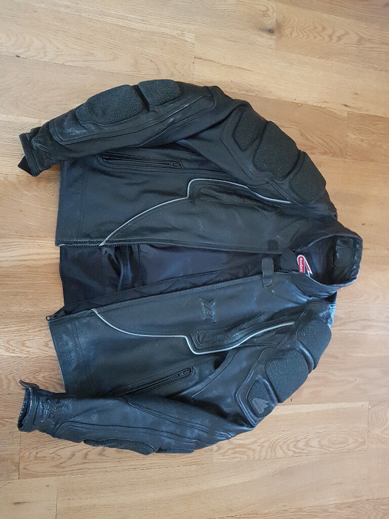 Hein Gericke Leather Motorcycle Jacket In Dumbarton