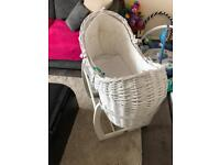 Moses Basket. 2 Mamas & Papas Moses baskets