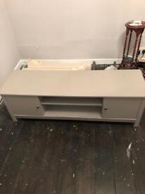 Grey tv cabinet