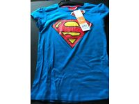 Superman (Marvel) T-Shirt 12 yr - Brand New with Tags