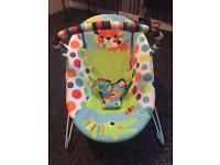 2 brightstart baby bouncers for sale