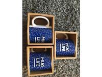 24 Mug Life Cups Boxed