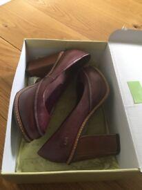 Radley chunky heeled pumps