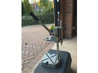 Electric drill pillar stand