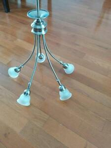 "Luminaire chandelier stainless steel gu10 40"" West Island Greater Montréal image 1"