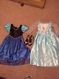 Lots of girls dress up Disney age 4-6 years