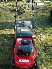 efco petrol lawnmower